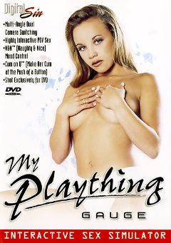 "Adult entertainment movie ""My Plaything: Gauge"" starring Gauge. Produced by Digital Sin."