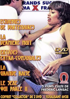 "Adult entertainment movie ""Games For An Unfaithful Wife - French"" starring Michelle Grubert, Jean-Paul Allais & Patrick Segalas. Produced by ALPHA-FRANCE."