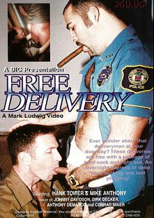 Free Delivery, starring Mike Anthony, Hank Tower, Conrad Maier, Dirk Decker, Anthony DeMarco, Hank Hightower and Johnny Davidson, produced by BiCoastal.