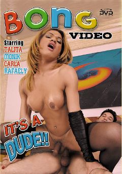 "Adult entertainment movie ""It's A Dude"" starring Talita, Rafaely & Monik (o). Produced by Demolition Pictures."
