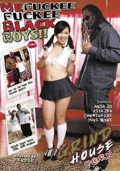 "Adult entertainment movie ""Me Fuckee Fuckee Black Boys"" starring Asia Zo, Carmina Kai & Nasir. Produced by Acid Rain."