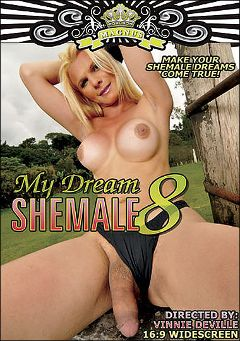 "Adult entertainment movie ""My Dream Shemale 8"" starring Samara Lauys, Thayana De Costa & Paola Felix. Produced by Magnus Productions."