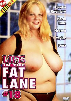 "Adult entertainment movie ""Life In The Fat Lane 18"" starring Lorelai Givemore, Eric P. & Crystal Cole. Produced by Filmco."