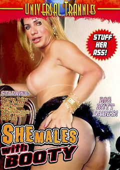 "Adult entertainment movie ""Shemales With Booty"" starring Thayssa Tallian, Grazielle & Aline Santos. Produced by Universal Trannies."