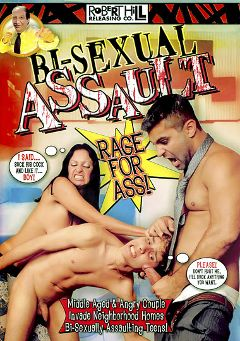 "Adult entertainment movie ""Bi-Sexual Assault"" starring Bruno Salles, Pablo & Cristian Grimaud. Produced by Robert Hill Releasing Co.."