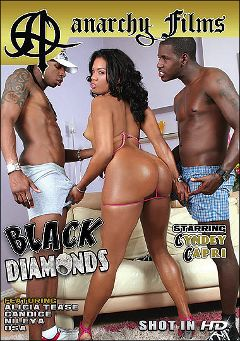 "Adult entertainment movie ""Black Diamonds"" starring Sydnee Capri, Nileya & Alicia Tease. Produced by Anarchy Films."