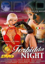 """Featured Category - Swinger presents the adult entertainment movie """"Forbidden Night""""."""