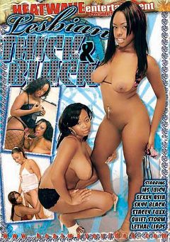 "Adult entertainment movie ""Lesbian Thick And Black"" starring Quiet Storm, Stacey Fuxx & Ms. Juicy. Produced by Heatwave Entertainment."