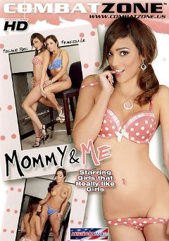 "Adult entertainment movie ""Mommy And Me"" starring Melanie Rios, Francesca Le & Shay Bennett. Produced by Combat Zone."