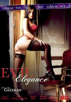 "Adult entertainment movie ""Evil Elegance"" starring Stracy Stone, Mandy Dee & Peter O Tool. Produced by Harmony Films Ltd.."