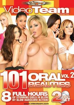"Adult entertainment movie ""101 Oral Beauties 2"" starring Bella Marie, Tiffany Taylor & Hillary Scott. Produced by Metro Media Entertainment."