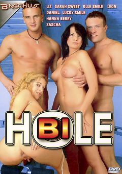 "Adult entertainment movie ""Bi Hole"" starring Black Pearl, Sarah Sweet & Leon Ramon. Produced by Totally Tasteless Video."