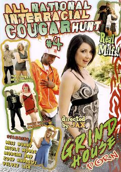 "Adult entertainment movie ""All National Interracial Cougar Hunt 4"" starring Zoey Andrews, Velvet Licx & Miss Bunny. Produced by Acid Rain."