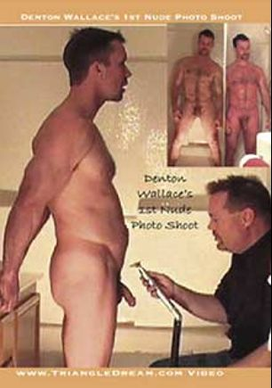 Denton Wallace's 1st Nude Photo Shoot, starring Denton Wallace (m), produced by Unicorn Media and Triangle Dream.