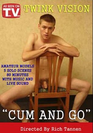 Cum And Go, starring Justin *, Lucas, Phil, Daniel * and Brandon *, produced by Boybox and Twink Vision.