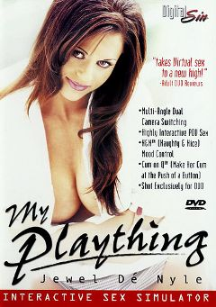 "Adult entertainment movie ""My Plaything: Jewel De' Nyle"" starring Jewel De'Nyle & Peter North. Produced by Digital Sin."