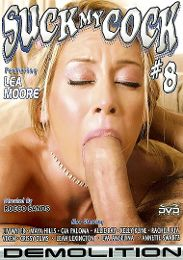 """Just Added presents the adult entertainment movie """"Suck My Cock 8""""."""