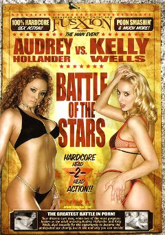 "Adult entertainment movie ""Battle Of The Stars"" starring Kelly Wells, Audrey Hollander & Kylie G. Worthy. Produced by Metro Media Entertainment."