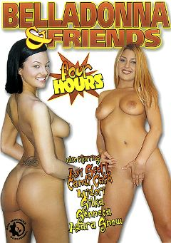 "Adult entertainment movie ""Belladonna And Friends"" starring Avy Scott, Candi Cash & Adara Snow. Produced by New Machine."