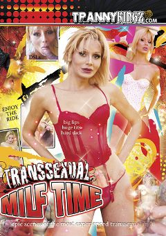 "Adult entertainment movie ""Transsexual MILF Time"" starring Cinthia (o), Andrea (o) & Haroldo (o). Produced by Ultimate T-Girl Productions."