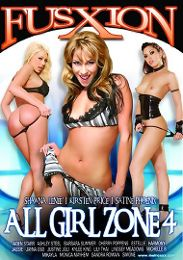 """Featured Studio - Fuzxion presents the adult entertainment movie """"All Girl Zone 4""""."""