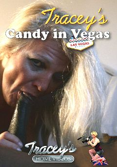 "Adult entertainment movie ""Tracey's Candy In Vegas"" starring Candy. Produced by Tracey's Home Videos."