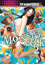 """Just Added presents the adult entertainment movie """"Transsexual Monster Cock 2""""."""