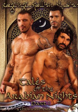 Tales Of The Arabian Nights, starring Alexsander Freitas, Ricky Martinez (II), Francesco D'Macho, Aybars, Tony Aziz, Austin Wilde, David Dirdam, Derrek Diamond, Angelo Marconi, Conner Habib, Andre Barclay, RJ Danvers, Antonio Biaggi, Steve Cruz, Damien Crosse, Dominic Pacifico and Wilfried Knight, produced by Falcon Studios Group and Raging Stallion Studios.