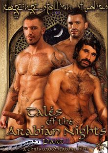 Tales Of The Arabian Nights Part 2, starring Alexsander Freitas, Ricky Martinez (II), Francesco D'Macho, Aybars, Tony Aziz, Austin Wilde, David Dirdam, Derrek Diamond, Angelo Marconi, Conner Habib, Andre Barclay, RJ Danvers, Antonio Biaggi, Steve Cruz, Damien Crosse, Dominic Pacifico and Wilfried Knight, produced by Falcon Studios Group and Raging Stallion Studios.