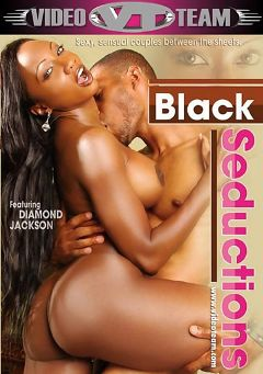 "Adult entertainment movie ""Black Seductions"" starring Diamond Jackson, Jacky Brown & Melody Nakai. Produced by Video Team."