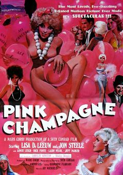 "Adult entertainment movie ""Pink Champagne"" starring Hillary Summers, Tiffany Clark & Lisa DeLeeuw. Produced by Cal Vista Classic."