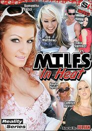 """Featured Category - M.I.L.F. presents the adult entertainment movie """"MILFS In Heat""""."""