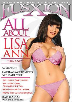 "Adult entertainment movie ""All About Lisa Ann"" starring Lisa Ann, Jayden Jaymes & Alektra Blue. Produced by Fusxion."
