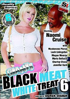 "Adult entertainment movie ""Giants Black Meat White Treat 6"" starring Naomi Cruz, Charley Chase & Leigh Livingston. Produced by Antigua Pictures."