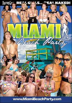 "Adult entertainment movie ""Miami Beach Party"". Produced by Dream Girls."