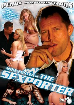"Adult entertainment movie ""Mike Foster Is The Sexporter"" starring Katsumi (II), Debbie White & Alexa Weix. Produced by Heatwave Entertainment."