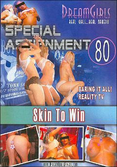 "Adult entertainment movie ""Special Assignment 80: Skin To Win"". Produced by Dream Girls."