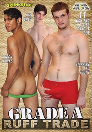 Grade A Ruff Trade, starring Jim Crew, Aaron Hawks, Tye South, C.J. Sioux, Roger Rodriguez, Chet Walker, Adam Blank, Aaron Landcaster, Axel Johnson, Rocky Balboa and Chas Kramer, produced by Highdrive Productions Inc..