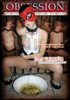 "Adult entertainment movie ""Obsession: Das Verhor Vor Angst Gepisst"" starring Rita. Produced by MEGA-FILM."