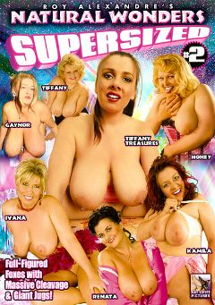"Adult entertainment movie ""Natural Wonders Supersized 2"" starring Gaynor, Ivana & Tiffany Treasures. Produced by Blue Coyote Pictures."
