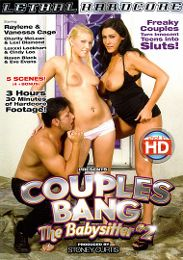 """Top 2017 Movies presents the adult entertainment movie """"Couples Bang The Babysitter 2""""."""