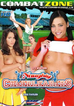 "Adult entertainment movie ""Naughty Cheerleaders"" starring Lizz Tayler, Ivy Winters & Ally Kay. Produced by Combat Zone."