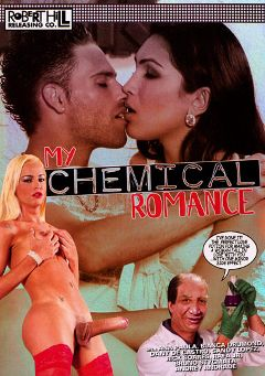 "Adult entertainment movie ""My Chemical Romance"" starring Dany DeCastro, Bruno Stigmata & Andrey Andrade. Produced by Robert Hill Releasing Co.."