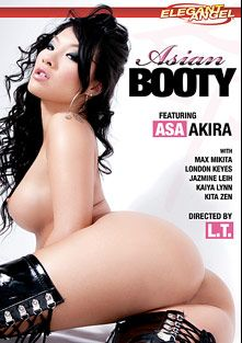 Asian Booty, starring Asa Akira, Kita Zen, London Keyes, Max Mikita, Jazmine Leih, Kaiya Lynn and L.T. Turner, produced by Elegant Angel Productions.