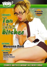 """Featured Studio - Wow Pictures presents the adult entertainment movie """"Tan Line Bitches""""."""