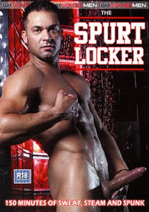 Spurt Locker, starring Jed Willcox, Paulo Bertoli, Freddy Falcon, Nic James, Carioca, Kurt Rogers, Ross Hurston, Raphael and Rick Bauer, produced by Uk Naked Men.
