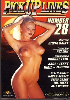 "Adult entertainment movie ""Pick Up Lines 28"" starring Silvia Saint, Lexxy & Jade De Luxor. Produced by Silverstone."
