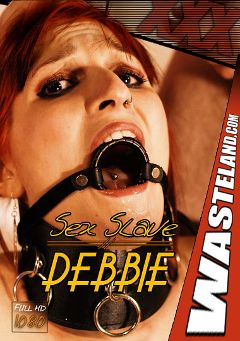 "Adult entertainment movie ""Sex Slave Debbie 2"" starring Slave Debbie & Master Johnny. Produced by Wasteland Studios."