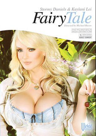 Fairy Tale, starring Stormy Daniels, Angelica Saige, Janet Mason, Rocco Reed, Marcus London, Kaylani Lei, Michael Raven and Eric Masterson, produced by Wicked Pictures.