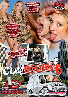 "Adult entertainment movie ""Cum Hunters 6"" starring Mallory Rae, Isis Monroe & Amy Brooke. Produced by Immoral Productions."